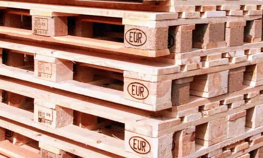 5 What does EUR stamp mean on a pallet and is it safe to use for a pallet bed