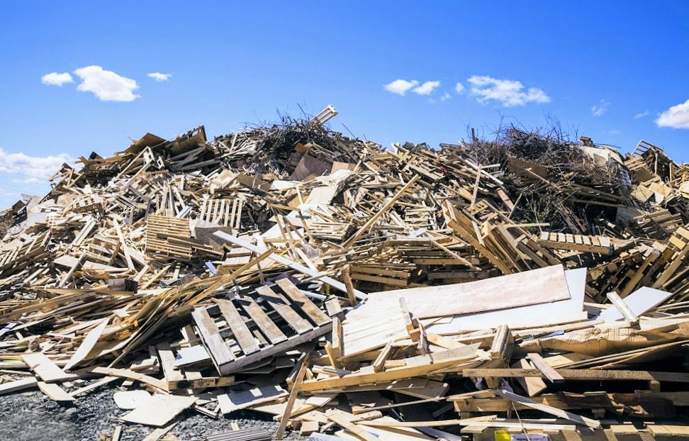 Recycling pallets is something the industry does anyway - especially the hardwood ones